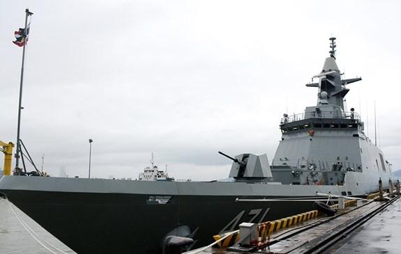 Royal Thai Navy frigate visits Da Nang hinh anh 1