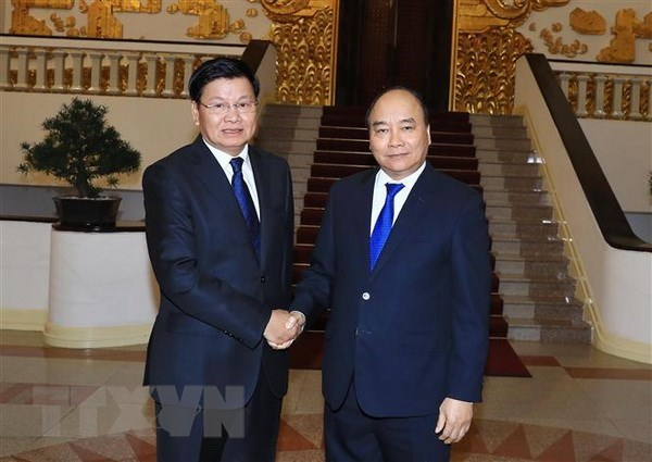 Lao PM to co-chair inter-governmental committee meeting in Vietnam hinh anh 1