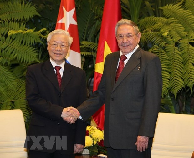 Leaders send congratulations to Cuba on 60th Liberation Day hinh anh 1