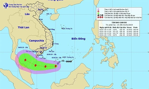 Extreme weather forecast for start of 2019 hinh anh 1
