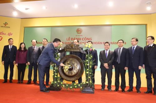 Vietnam's stock market opens first trading session of 2019 hinh anh 1