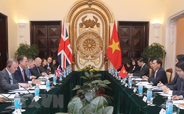 Vietnam, UK hold deputy minister-level political consultation hinh anh 1