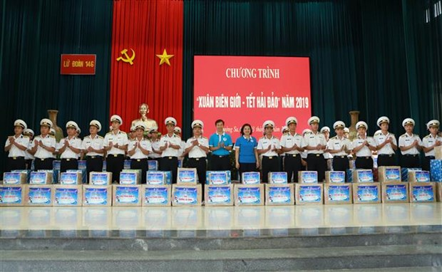 """""""Border spring-Island Tet"""" programme launched in Khanh Hoa hinh anh 1"""