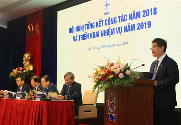 EVN records 15 percent rise in total revenue for 2018 hinh anh 1
