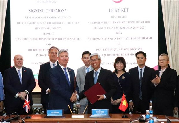 HCM City partners with UK in building smart city hinh anh 1