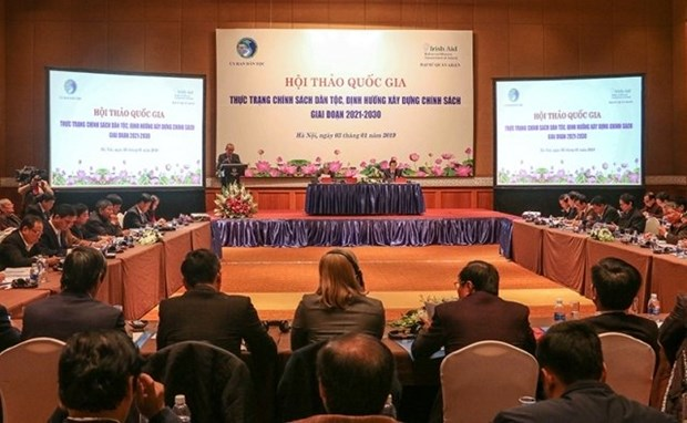 National symposium talks ethnic policy hinh anh 1
