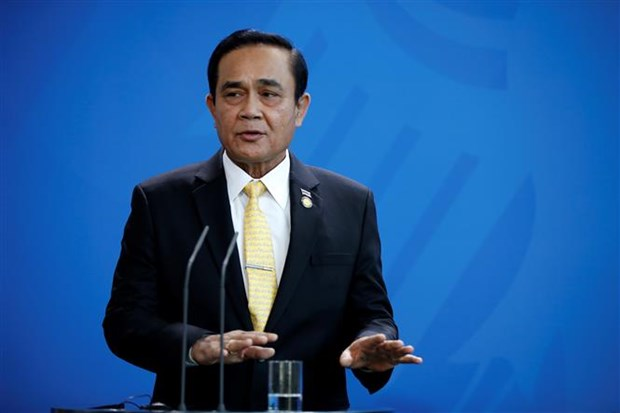 Thai PM rejects rumour about delay of general elections hinh anh 1