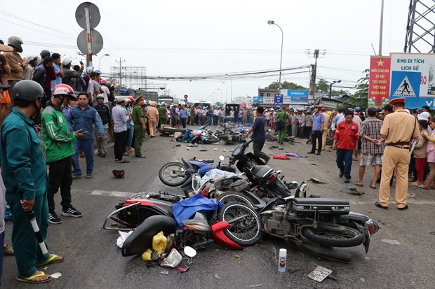 Deputy PM directs settlement of deadly traffic accident in Long An hinh anh 1