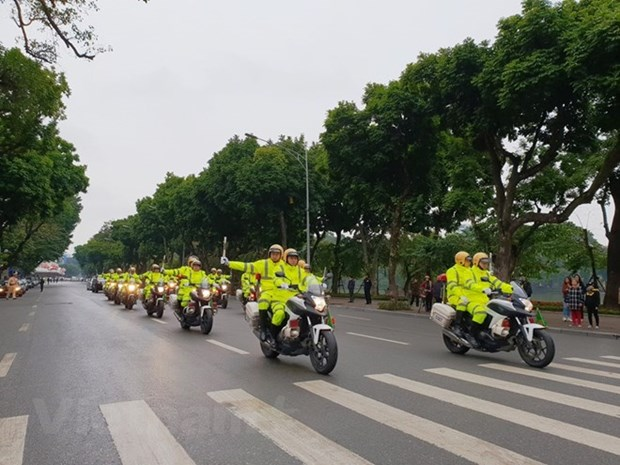 Traffic safety year launched in Hanoi hinh anh 1