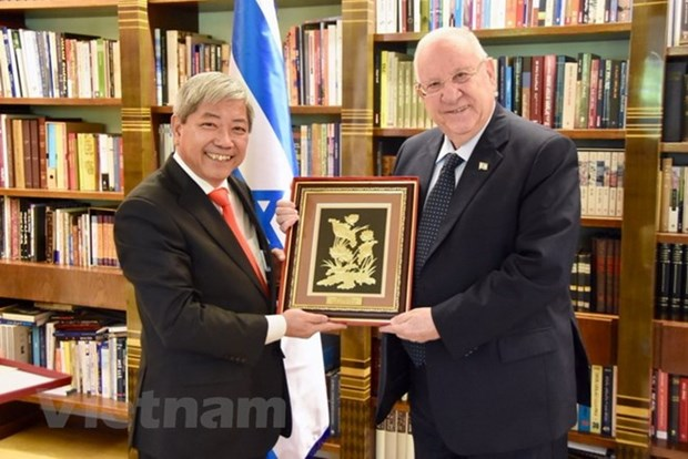 Israel treasures ties with Vietnam: Israeli President hinh anh 1
