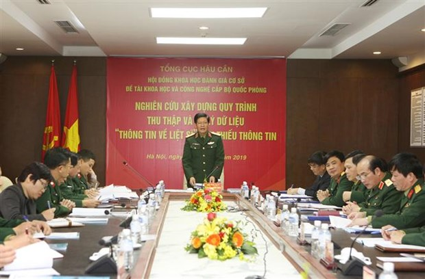 Ministry builds process to support identification of martyrs' remains hinh anh 1