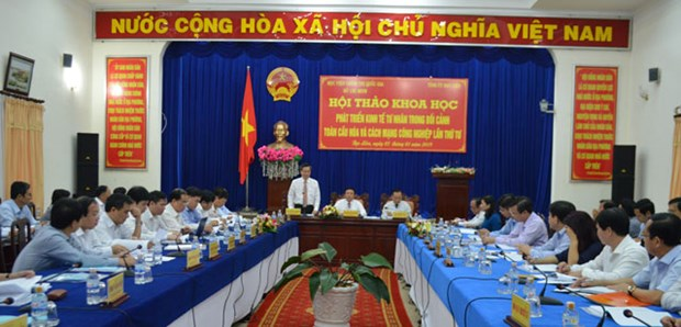 Workshop highlights role of private economy in globalization hinh anh 1