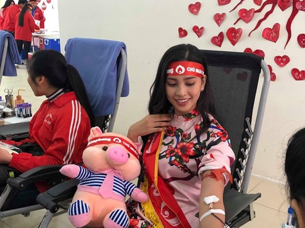 Nearly 70 blood donation points nationwide for Tet hinh anh 1
