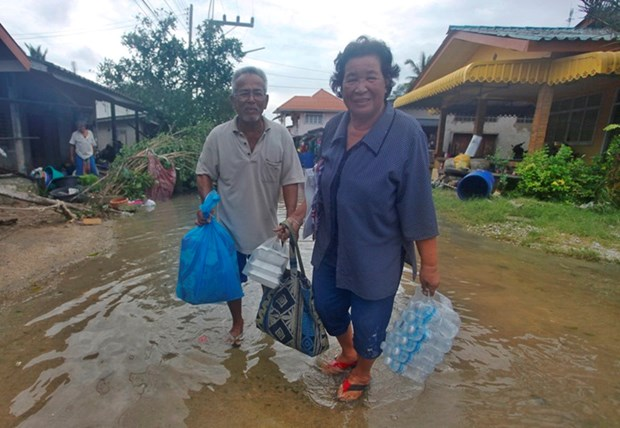 Thailand monitors supply of goods in storm-hit areas hinh anh 1