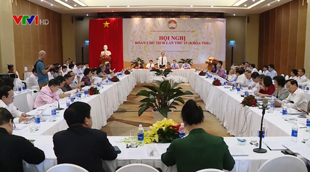 Preparations for ninth VFF national congress discussed hinh anh 1