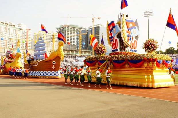 Cambodia celebrates 40th anniversary of victory over genocidal regime hinh anh 1