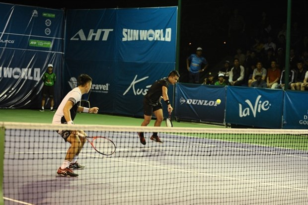 Duo Nam, Khanh lose in first round of Vietnam Open hinh anh 1