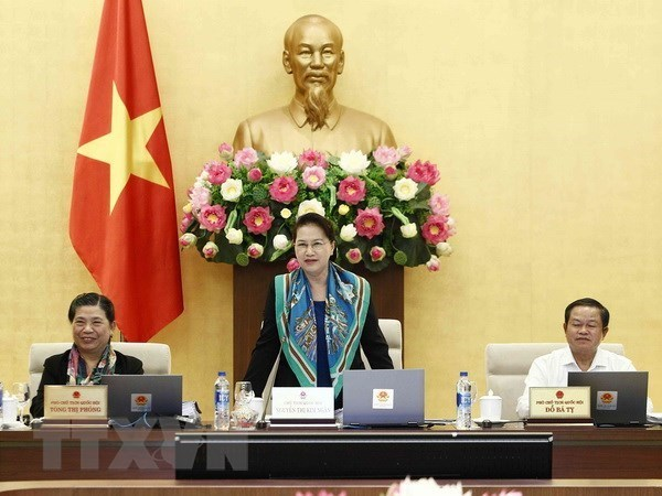 NA Standing committee to convene 30th session on Jan 10 hinh anh 1