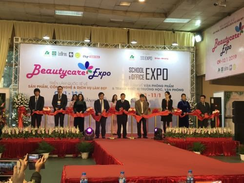 First Beautycare Expo kicks off in Hanoi hinh anh 1