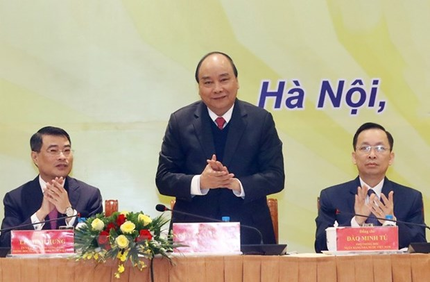 PM orders breakthroughs in banking sector hinh anh 1