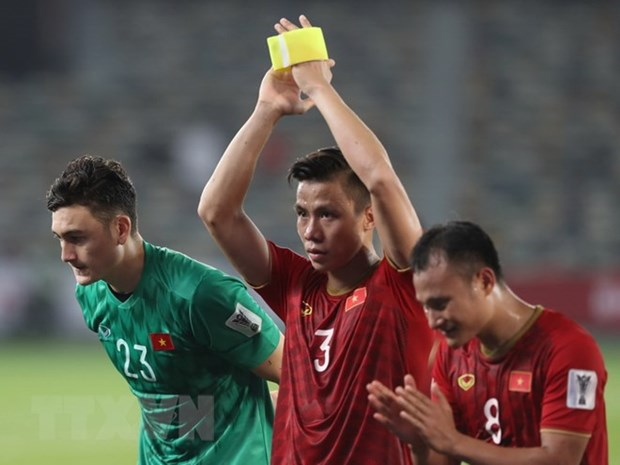 Foreign media praise Vietnam's performance against Iraq hinh anh 1