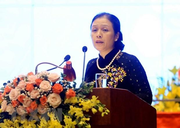 Nguyen Phuong Nga elected as VUFO President hinh anh 1