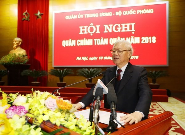 Leader: Army must strive to complete tasks for 2019 hinh anh 1