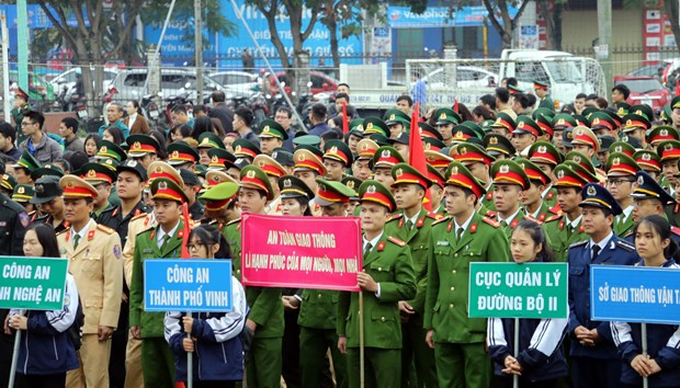 Fourth school traffic safety contest launched hinh anh 1