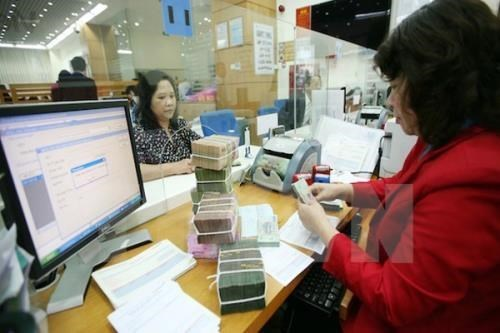 Reference exchange rate down by 5 VND on January 10 hinh anh 1
