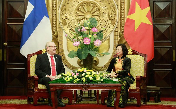 Hanoi fosters comprehensive cooperation with Finland's South Ostrobothnia hinh anh 1