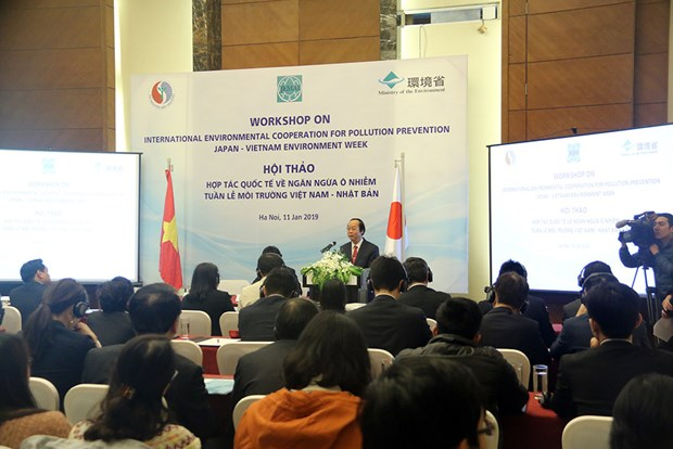 Vietnam, Japan cooperate to prevent environmental pollution hinh anh 1