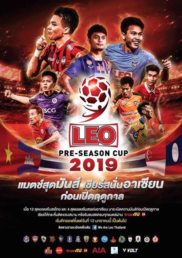 Hanoi FC to compete in Thailand's Leo Pre-season Cup hinh anh 1