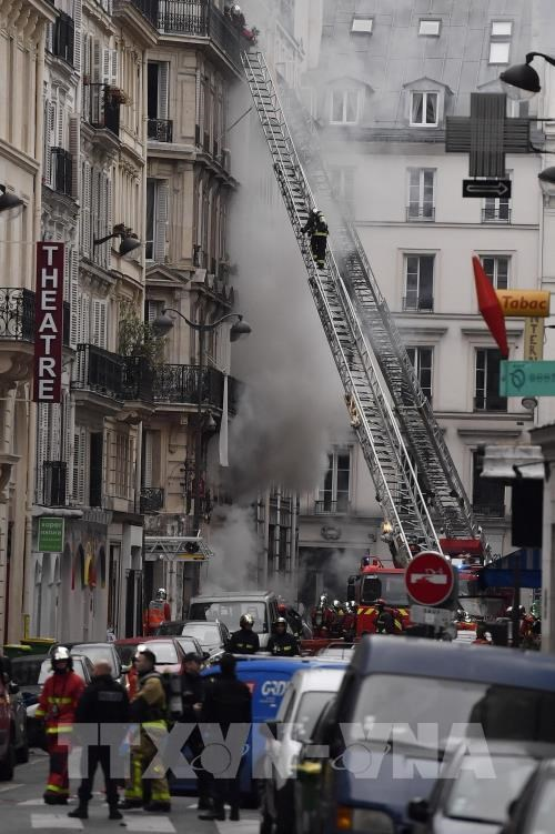 No Vietnamese hurt in Paris gas-leak explosion hinh anh 1