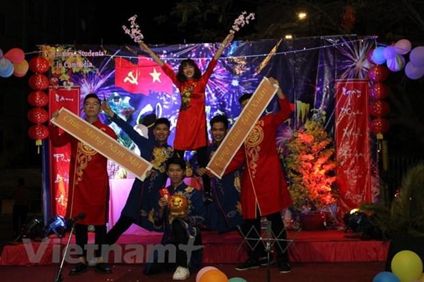 Overseas Vietnamese in Cambodia, RoK welcome Tet hinh anh 1
