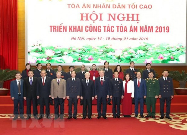 Courts urged to speed up judicial reform hinh anh 1