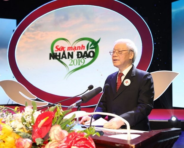 Leader calls on whole society to support disadvantaged hinh anh 1