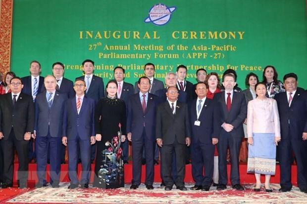 Asia-Pacific Parliamentary Forum convenes 27th annual meeting hinh anh 1