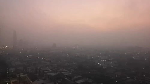 Dangerous levels of PM 2.5 measured across Bangkok hinh anh 1