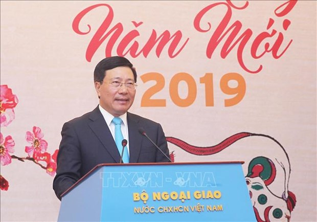 Deputy PM appreciates press agencies' contributions to external work hinh anh 1