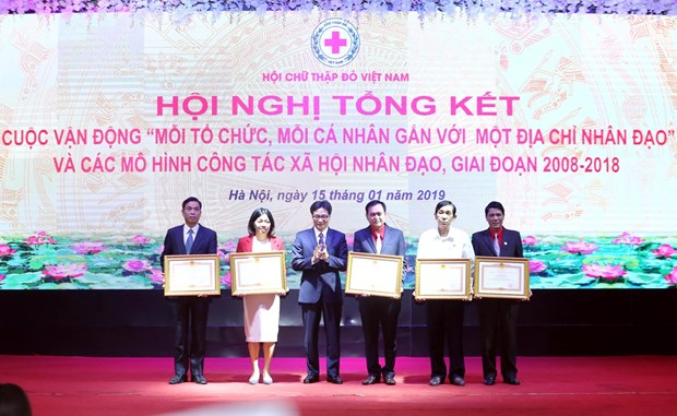 Campaign helps promote humanitarian aid hinh anh 1
