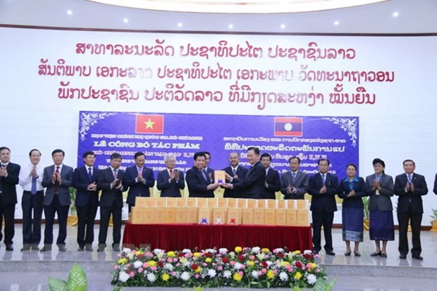 More volumes of Ho Chi Minh's Complete Works translated into Lao hinh anh 1