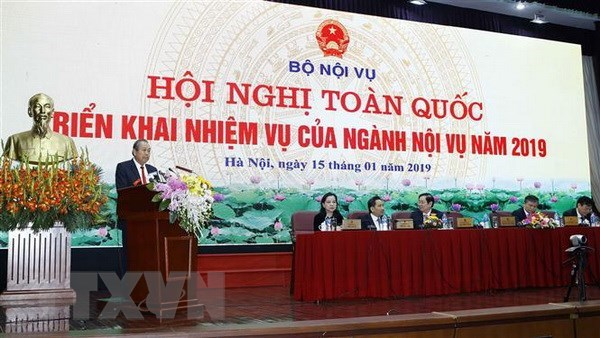 Home Ministry urged to complete personnel reduction targets hinh anh 1