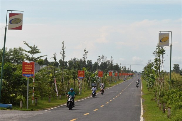 Kien Giang has another new-style rural commune hinh anh 1