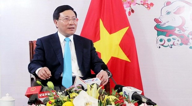 Foreign relations help enhance country's position: Deputy PM Pham Binh Minh hinh anh 1