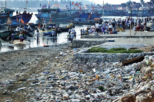 Marine plastic pollution requires international cooperation hinh anh 1