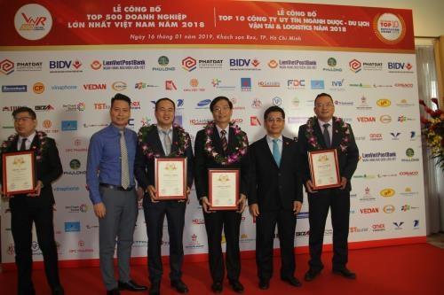 PetroVietnam ranks among 500 largest Vietnamese enterprises hinh anh 1