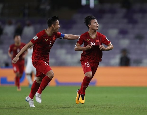 Vietnam beat Yemen 2-0, hopeful for berth in AFC Cup knockout stage hinh anh 1