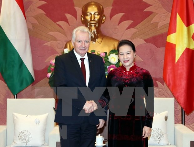 NA leader calls for Hungary's support of EVFTA approval hinh anh 1
