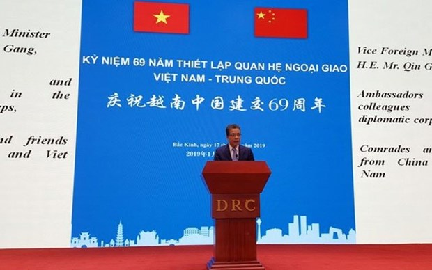 Vietnam-China diplomatic relations marked in Beijing hinh anh 1