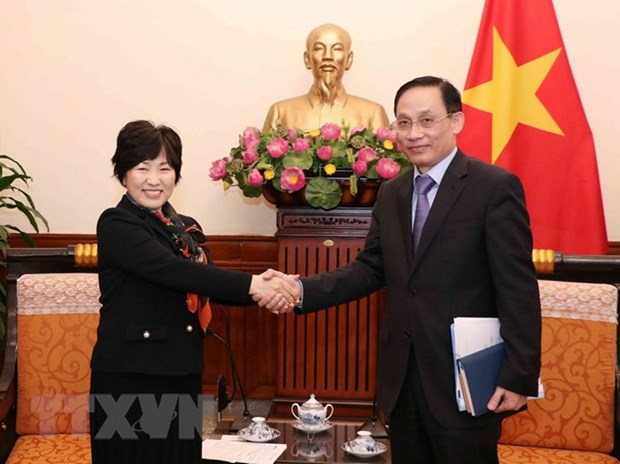 Vietnamese, Japanese foreign ministries seek stronger cooperation hinh anh 1